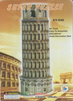 3D Puzzle - Piza tower