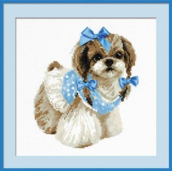 Cross-stitch kit Riolis 1120 Shih Tzu