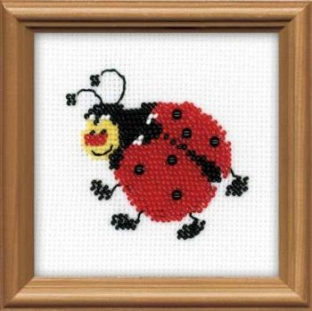 Embroidery kit Riolis 1108 Lady-bird