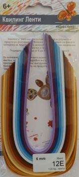 Quilling paper - mix 12E