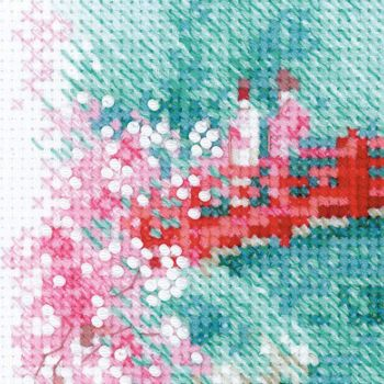 Cross-stitch kit Riolis 1735 Thumbelina