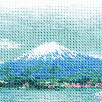 Cross-stitch kit Riolis 1743 Sakura Pagoda