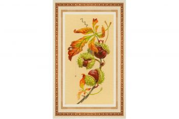 "Cross-stitch kit Golden Hands ""Perfect moment"""