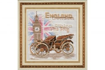 Cross-stitch kit Golden Hands M-007 LONDON