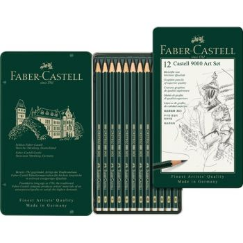 Faber-Castell pencil  kit Castell 9000 JUMBO