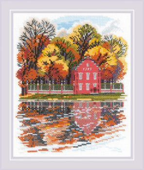 Cross-stitch kit Riolis 1765 Chamomiles