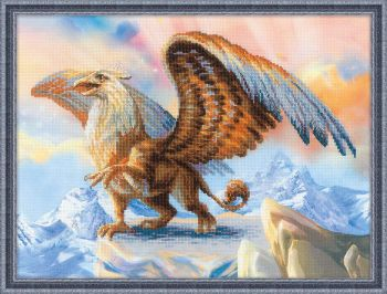 Cross-stitch kit Riolis 0077PT - Toucan