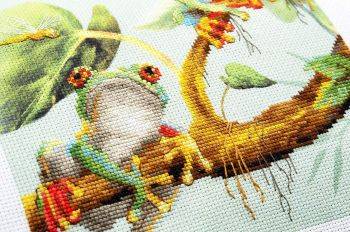 Cross-stitch kit Riolis 0078PT Griffin