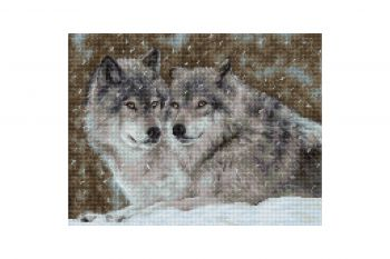 Cross-stitch kit Luca-S B2281 landscape