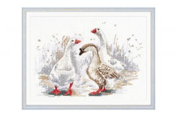 Cross-stitch kit Ram 1043 On the Wings of Love