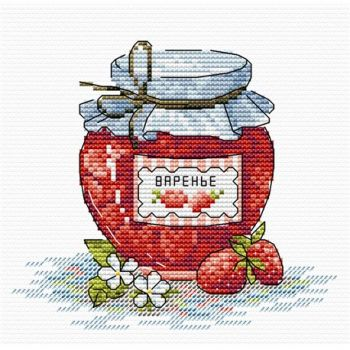 Cross-stitch kit Luca-S B1148 Anatol and Maria