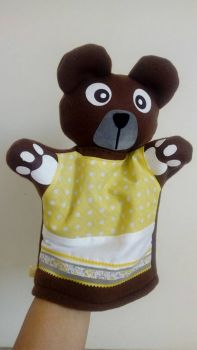 Theatrical hand puppet Teddy bear