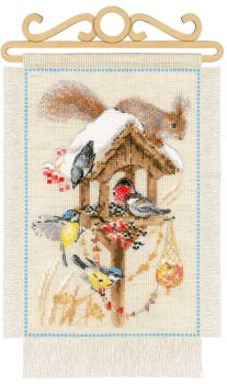 Cross-stitch kit Riolis 1656 Pastoral garden Spring