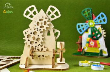 Puzzle mecanic 3D UGEARS - Mill