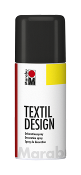 Nerchau textile paint - black