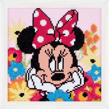 Diamond Painting Kit Vervaco PN-0175284 - DISNEY MINNIE WITH PURSE