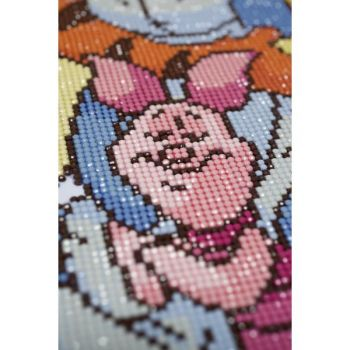 Diamond Painting Kit Vervaco PN-0175277 - DISNEY POOH WITH PIGLET