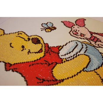 Diamond Painting Kit Vervaco PN-0173565 - DISNEY POOH WITH FRIENDS