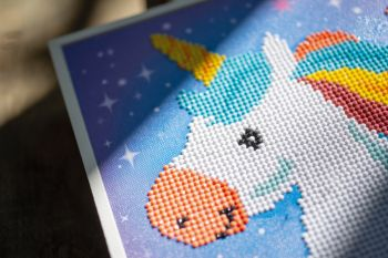 Diamond Painting Kit Vervaco PN-0179850 - KIT UNICORN