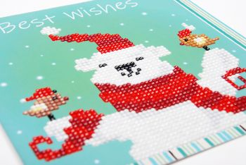 Diamond Painting Kit Vervaco PN-0183277 - KIT HAPPY SANTA