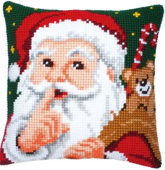 Silent night cross stitch cushion Vervaco PN-0008518