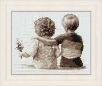 Cross-stitch kit Vervaco PN-0011828 BEAR ON THE MOON