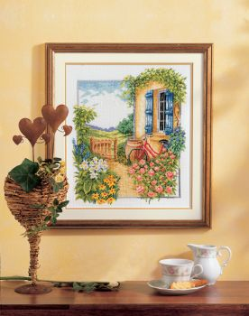 Cross-stitch kit Vervaco PN-0011874 BROTHER AND SISTER