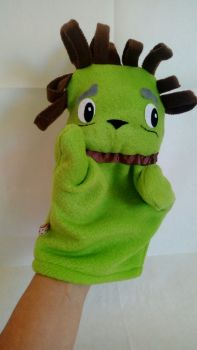 Theatrical hand puppet Puppy