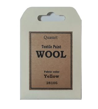Wool textile paint Green
