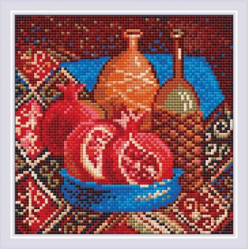 Diamond Mosaic Pomegranates AM0033