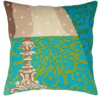 Colection D`Art cross stitch cushion 5339 Lampshade