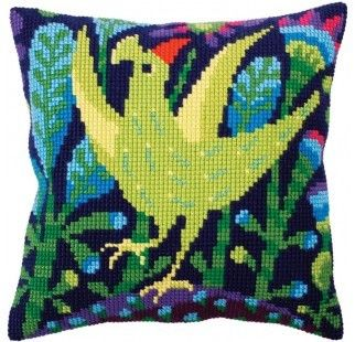 Colection D`Art cross stitch cushion 5306 butterfly
