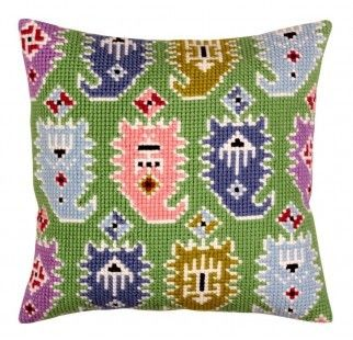 Colection D`Art cross stitch cushion 5375 Persian Design