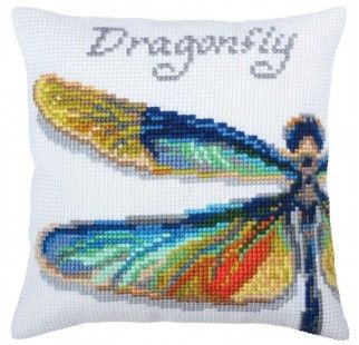 Colection D`Art cross stitch cushion 5366 Fish