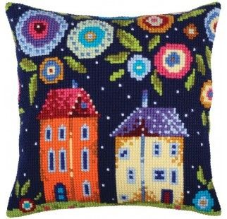 Colection D`Art cross stitch cushion 5348 Magic Forest