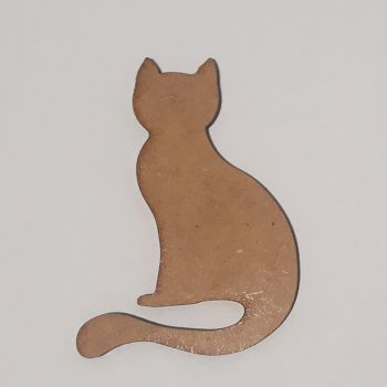 Wooden figure Craftabilia Little kitty