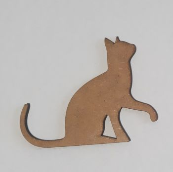 Wooden figure Craftabilia Playful kitten