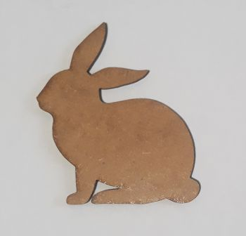 Wooden figure Craftabilia Cute rabbit