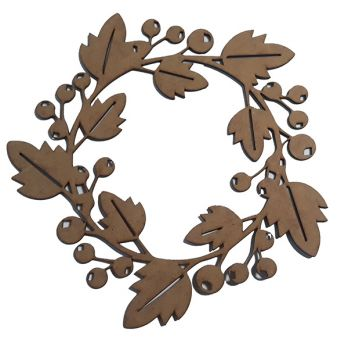 Wreath design basis Forest charm