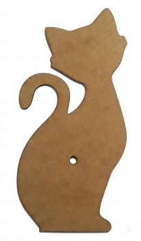 MDF base for clock - Cat