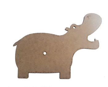 MDF base for clock - Hippo