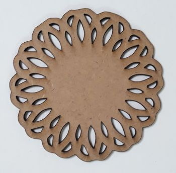 Wooden figure Craftabilia Round decorative element