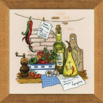 Cross-stitch kit Riolis 1304 Still Life with Pepper