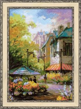 Cross-stitch kit Riolis 1306 Flower Street