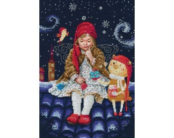 "Cross-stitch kit RTO M657   ""Waiting for a fairy tale"""
