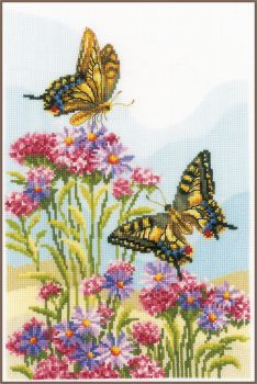Embroidery kit Vervaco PN-0156333  - MODERN FLOWERS