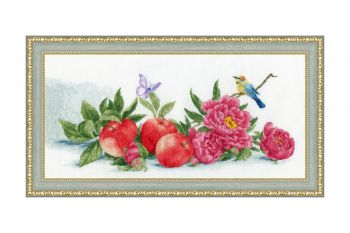 "Cross-stitch kit Zolotoe Runo    S/OL012  - ""Currant and Raspberry"""