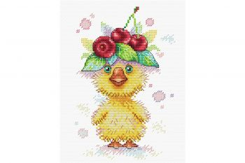"Cross-stitch kit MP STUDIA SM-207 ""Duck dance"""