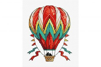 "Cross-stitch kit MP STUDIA SM-221 ""Cireș aventuros"""