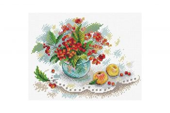 "Cross-stitch kit MP STUDIA SM-231 ""Spini de toamnă"""